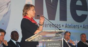 Hakima El HAITE. Ministre déléguée auprès du Ministre de l'Energie, des Mines, de l'Eau et de l'Environnement chargée de l'Environnement.
