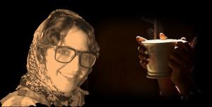 قهوة جمعت درويش ودافنتشي